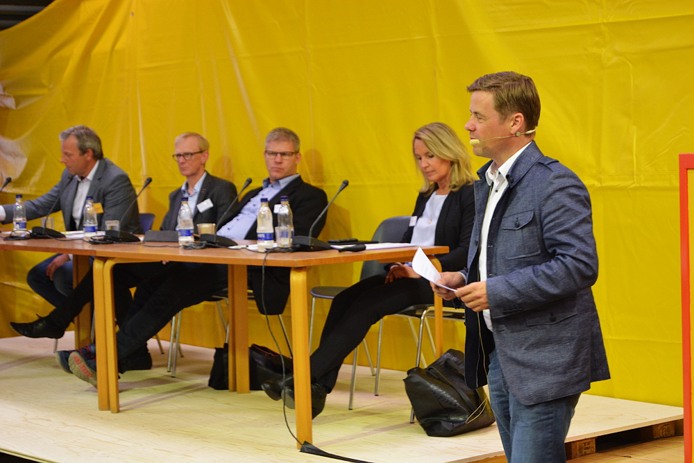 Thomas Kastrup-Larsen, Borgmester i Aalborg, fortalte bl.a. om Aalborg Kommunes Bæredygtighedsmanual.