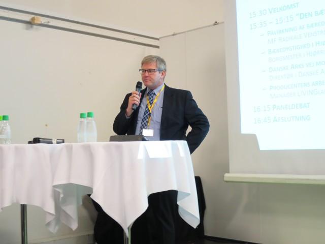 Arne Boelt, borgmester i Hjørring, lagde ikke fingrene imellem da han kom med sit bud på mere bæredygtighed i kommunerne.
